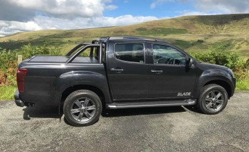 Isuzu D-Max cuts through the rough