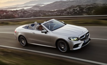 Cabrio and 4x4 estate join E-Class range