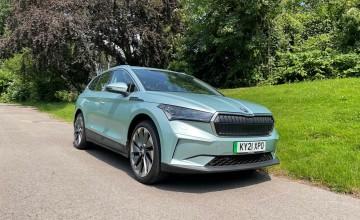 Coupe looks for Skoda Enyaq EV