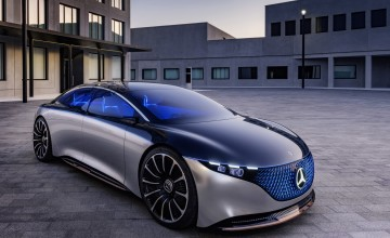 Mercedes shows its vision of an electric luxury future