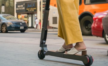 Safety concern over electric scooters