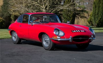 Rare E-Type under the hammer