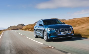 Audi switches to electric with e-tron