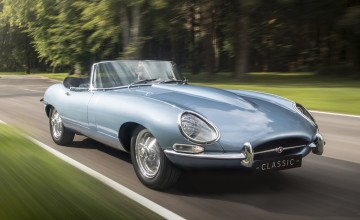 Jaguar E-Type back to the future