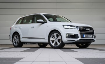 Audi Q7 e-tron makes silence golden