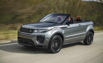 Range Rover Evoque goes topless