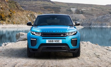 Land Rover heralds clean machines