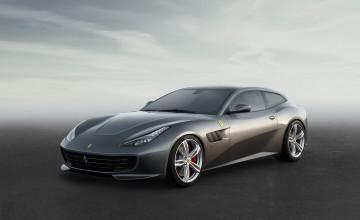 Ferrari reveals all-wheel-steer four-seater