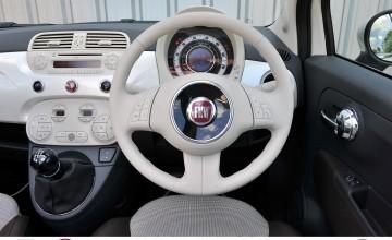 Funky and stylish tiny Fiat