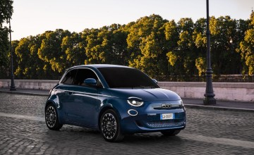 Design award for Fiat's electric baby