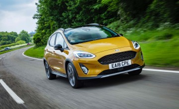 Smooth riding Fiesta gets active