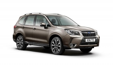 Subaru Forester gets upgrade