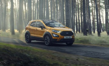 Ford's EcoSport gets active