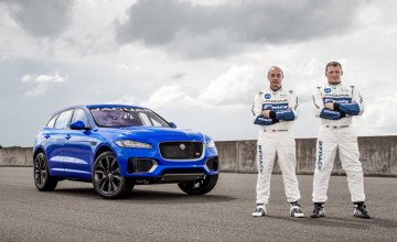 Setting the F-PACE at Goodwood