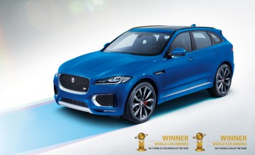 Jaguar F-PACE best in the world