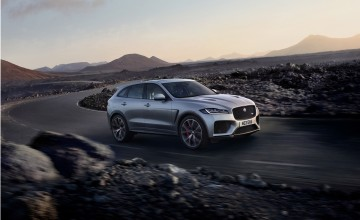 Jaguar F-PACE gets SVO treatment