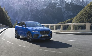 Upgrades for Jag's flagship F-PACE