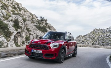 MINI Countryman works out