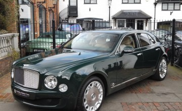 The Queen's Bentley up for sale