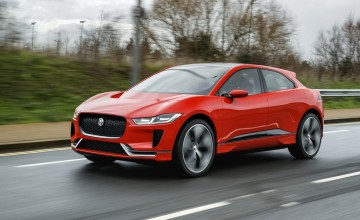 Jaguar tests all-electric I-PACE in London