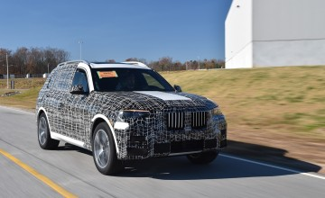 BMW X7 ready to roll