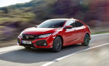 Terrific turbos make new Honda Civic