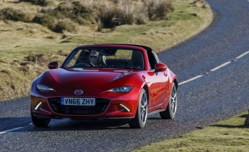 Hard-core MX-5 RF from Mazda