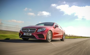 Mercedes-Benz E220d AMG Line Coupe