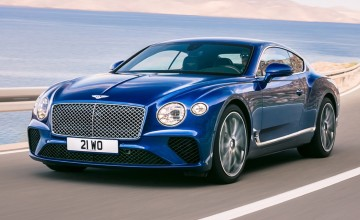 New Bentley Continental GT revealed