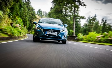 Mazda2 drives the Azores