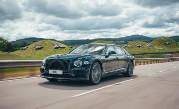 Bentley reveals plug-in Flying Spur