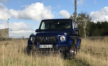 Mercedes shows off first-class G-Class