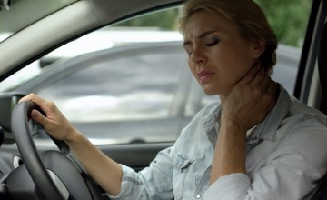 Make sure driving is no pain in the neck
