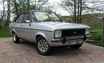 Rare Ford Escort up for sale