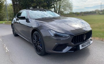 Maserati goes diesel with new Ghibli