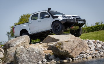 Heavy duty tweaks for Isuzu D-Max