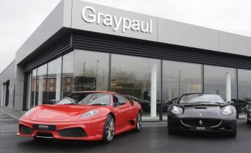 Ferrari on the move in Midlands