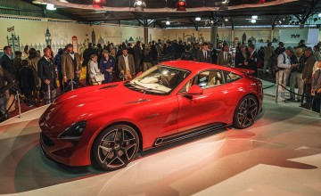 TVR returns with new Griffith