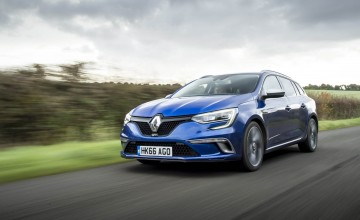 Hot stuff from new Megane estate