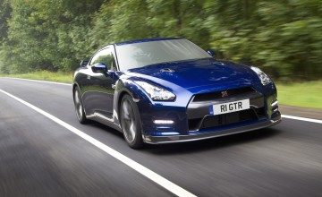 New GT-R blasts off