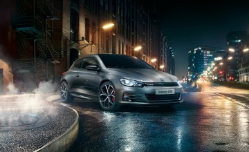 Volkswagen Scirocco GTS heads up specials
