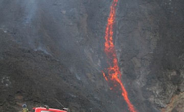 Volcano can't halt the Hilux