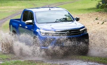 New Toyota Hilux makes a splash