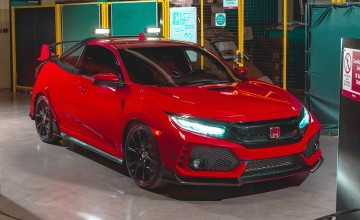 Enter the crazy Civic Type R truck