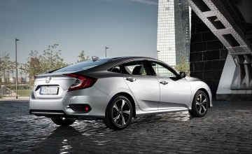 Honda Civic Saloon returns