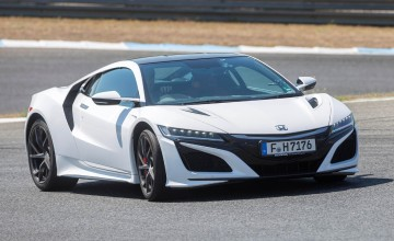Honda NSX - old and new