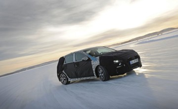 Snow trials for Hyundai i30 N