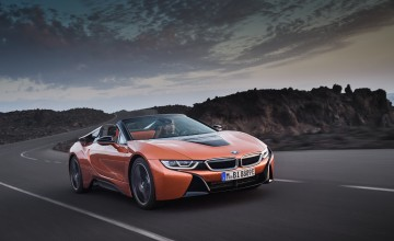 Topless treatment for BMW i8