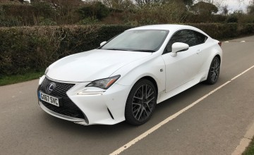 Lexus RC 300h Luxury Prem navi