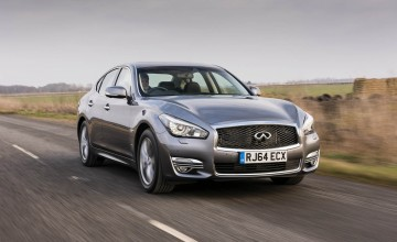 Infiniti Q70 gets leaner and cleaner